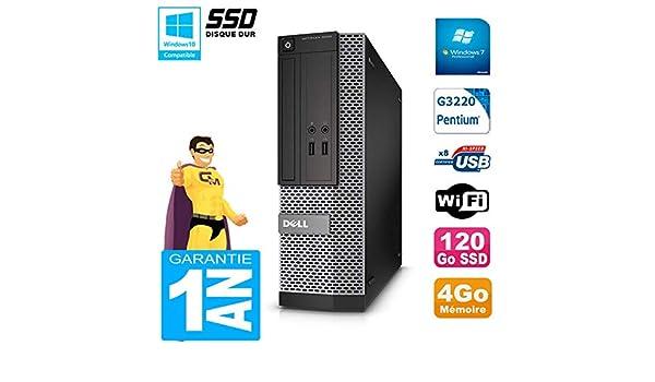 Dell PC 3020 SFF Intel G3220 4 GB RAM Disco Duro 120 GB SSD ...