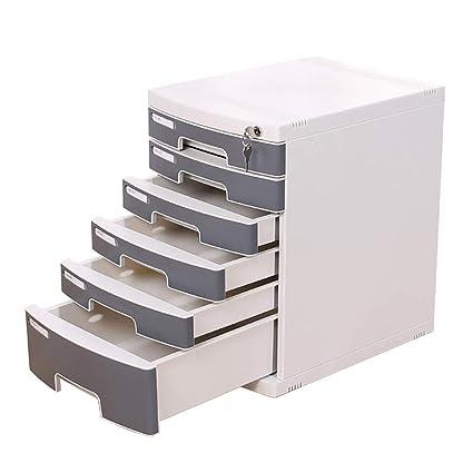Archivador, Tipo cajón de Seis Capas A4 con archivador de Archivo de Caja de Archivo