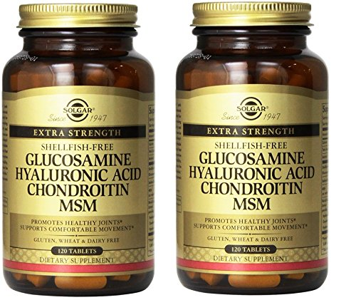 Glucosamine/hyaluronic Acid/chondroitin/msm (Shellfish-free) - 120 - Tablets(multi Pack)