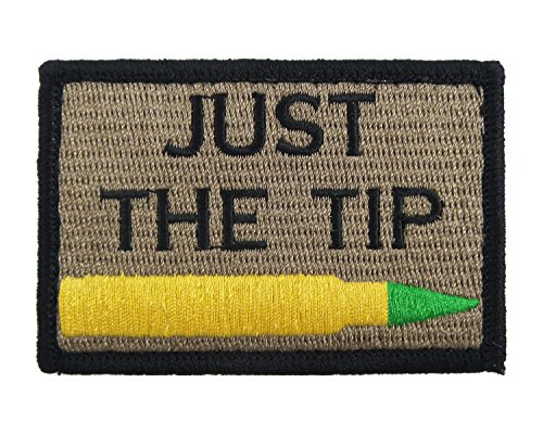 Penetrator Velcro Embroidered Morale Tags
