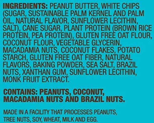 Munk Pack | White Chocolate Macadamia | 2.96oz Protein Cookie, Individual (1) | Vegan, Gluten-Free, Soft Baked | 18g Protein: Amazon.com: Grocery & Gourmet ...