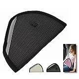 Cubierta de cinturón de seguridad para niños - Protección para niños en el auto (Negro)