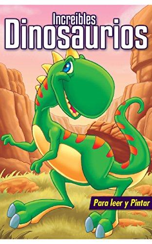 Libro Para Ninos Increibles Dinosaurios Libros Para Colorear