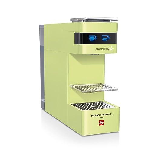 illycaffè Y3 Iperpresso - Máquina de café en cápsulas, color verde: Amazon.es: Hogar