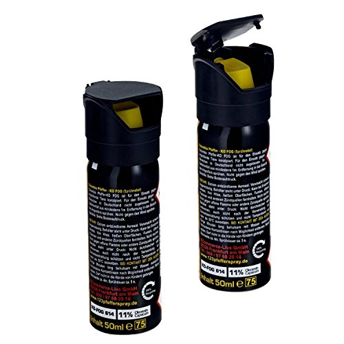 2x Pfefferspray K.O. Spray FOG 50ml