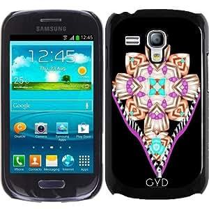 Funda para Samsung Galaxy S3 Mini (GT-I8190) - Gótico Santa Cruz Ornamentada by Blingiton
