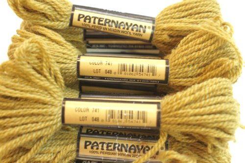 Paternayan Needlepoint 3 Ply Wool Yarn Color 741 Tobacco This Listing Is For 2 Mini 8 Yd Skeins