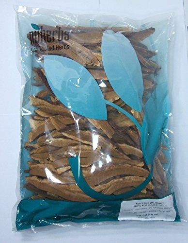 Seta de Reishi, rodajas, rojo / Ling Zhi, orgánica, 1lb a granel por Nuherbs