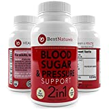 Product review for Best Naturels 2-in-1 Blood Pressure + Blood Sugar Support Supplement | Promotes Healthy Blood Glucose + Cholesterol Levels | Organic Blend of UltraCur (Turmeric Extract), Cinnamon, Alpha Lipoic Acid