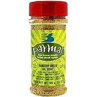 Parma! Vegan Parmesan - Garlicky Green, Dairy-Free, Soy-Free and Gluten-Free Vegan Cheese, Plant-Based Superfood, Kosher (3.5 oz)