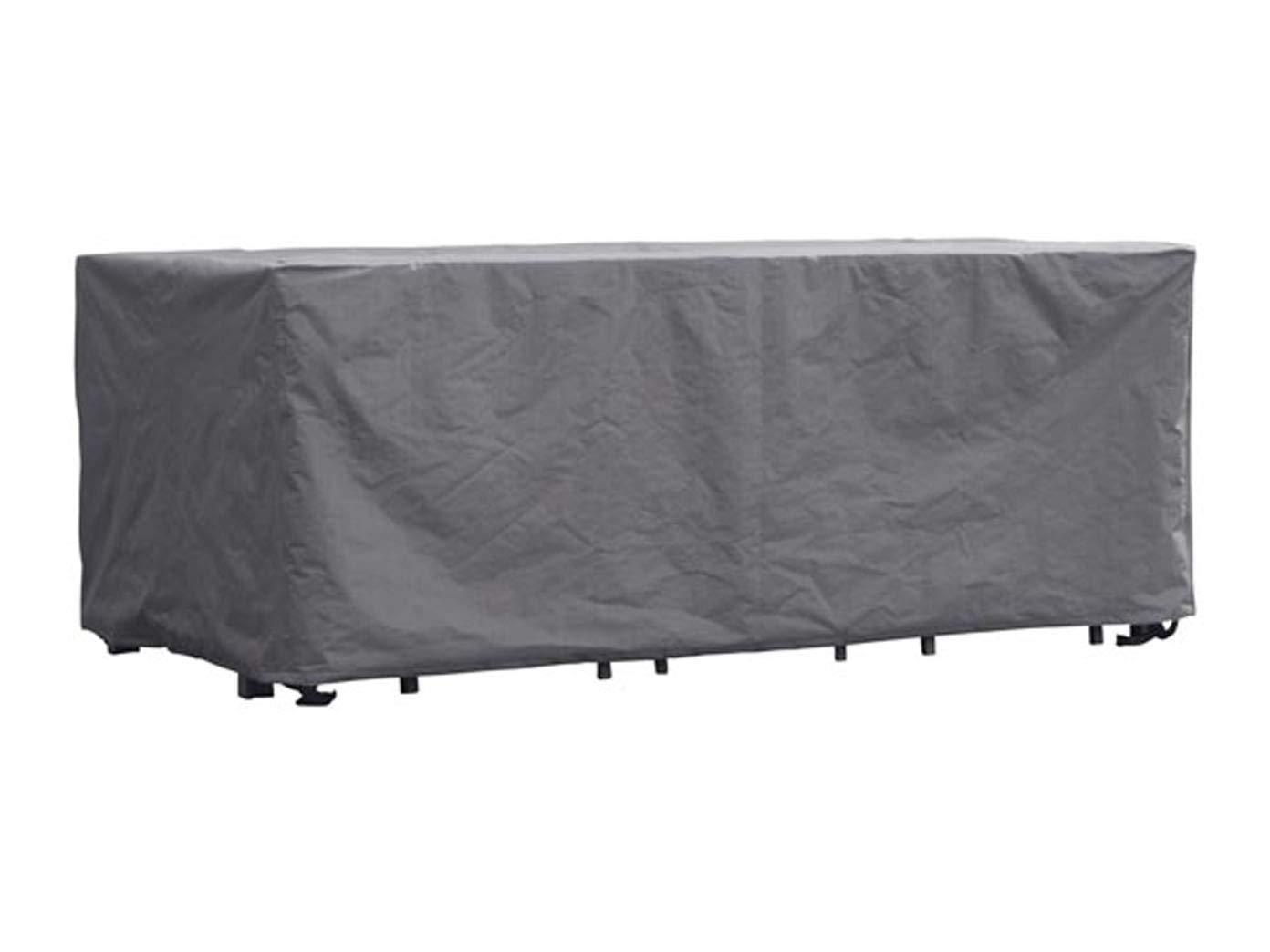 Perel Garden OCGS Schutzhülle Für Rechteckiges Lounge-Set - XL, Schwarz, 285 x 180 x 95 cm