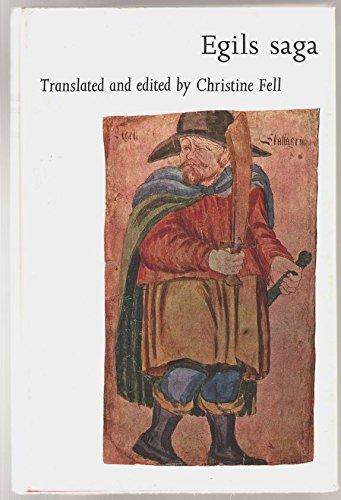 Amazonfr Egils Saga Christine Fell Livres