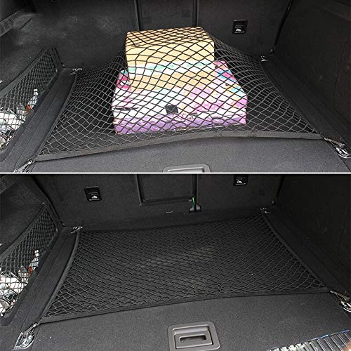 Para Honda CR-V CRV//Civic 2012 2013 2014 2015 2016 Car Boot Trunk Net Organizador de carga Almacenamiento Estilo Accesorios for el autom/óvil