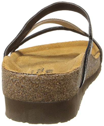 Naot Women's Hawaii Wedge Sandal, Grecian Gold Leather, 39 EU/7.5-8 M US by NAOT (Image #2)