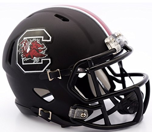 South Carolina Replica Helmet - Riddell NCAA South Carolina Fighting Gamecocks Helmet Mini Speed, One Size, Team Color, Team Colors