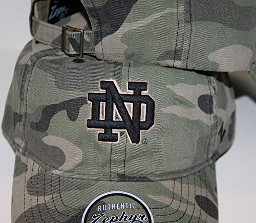 san francisco 34285 fa364 ... Notre Dame ND Fighting Irish Top Camo Hunting Washed Unstructed  Maverick Adult Mens Boys Adjustable Baseball Hat Cap. Free Shipping Free  Shipping