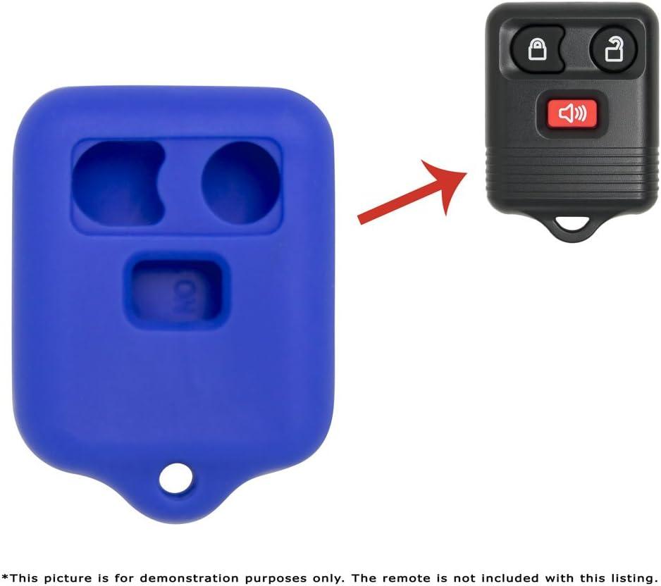 Pink Keyless2Go New Silicone Cover Protective Case for Remote Key Fobs FCC CWTWB1U345 CWTWB1U331 GQ43VT11T