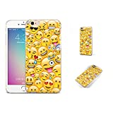 Emoji Iphone 6 Case GSPSTORE iphone 6 plus case,iphone 6s plus Case,personalized Emoji Cartoon Pattern Soft Transparent TPU Protector Cover for iphone6 plus/iphone 6s plus (5.5 inches) #15