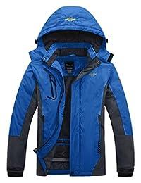 Wantdo Men's Mountain Outdoorwear Fleece Windproof Ski Jacket