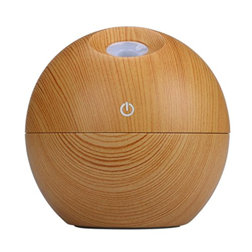 Aribelly Air Purifier LED Touch Aroma Ultrasonic Humidifier USB Essential Oil Diffuser