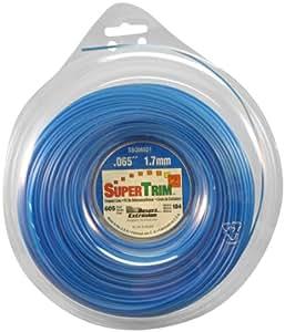 SuperTrim21-pound Bobina de .065-inch-by-605-foot home-owner grado cuadrado cortadora de césped línea, Azul