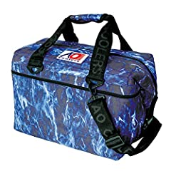 AO Coolers mossy oak elements is perfect for your fishing and outdoor adventure. The elements pattern is licensed by mossy oak and is a digitally enhanced 3D photo-realism that produces lifelike recreation of the natural environment. AO Coole...