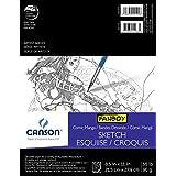 "CANSON 65 lb/96g Comic/Manga Sketch Pad Pad, 8.5 x 11"", 50 Sheets"