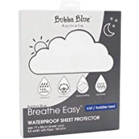 Bubba Blue Breathe Easy Cot/Toddler Bed Waterproof Sheet Protector,