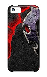 Tpu AlisaDepartment Shockproof Scratcheproof World Of Warcraft The Horde Hard Case Cover For Iphone 5c