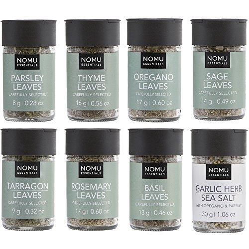 NOMU 8-Piece Set of Essential Herbs Range