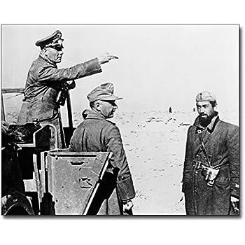 Amazon com: Desert Fox General Erwin Rommel WWII 8x10 Silver