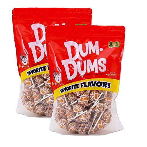 Dum-Dum Pops Butterscotch 1 lb -