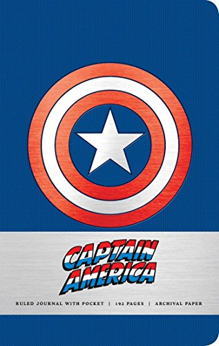 Marvel: Captain America Hardcover Ruled Journal