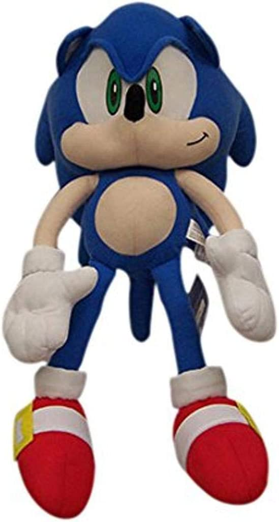 "Sonic the Hedgehog Sonic Large Plush 22/"" Inches Tall Pillow Plush SEGA NEW"