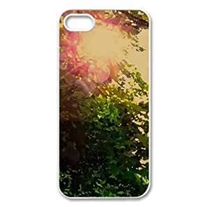 Forest Waterfall Watercolor style Cover iPhone 5 and 5S Case (Waterfalls Watercolor style Cover iPhone 5 and 5S Case)