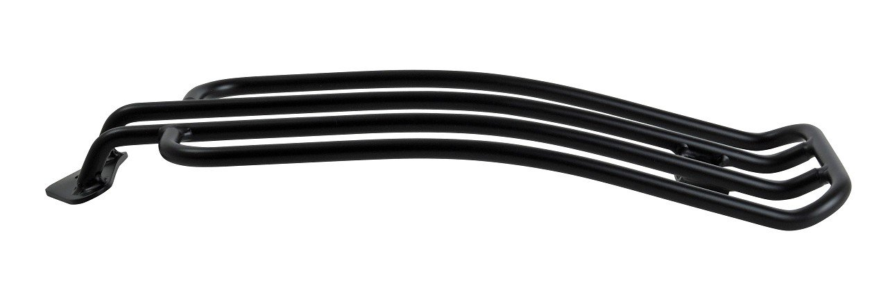 BUFFALO BAG portapacchi nero adatto per moto con sedile Solo e progetti Custom