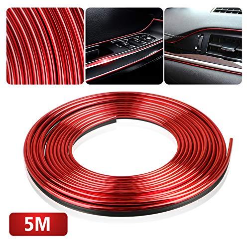 EEEKit Car Interior Trim, Red 5M Car Door