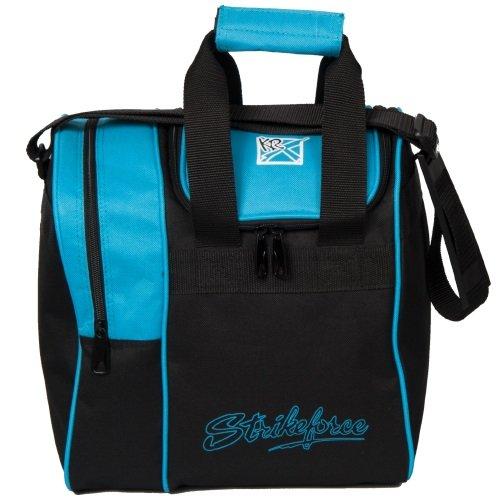 KR Strikeforce Rook Single Bowling Ball Tote Bag, Aqua (The Best Bowling Ball)