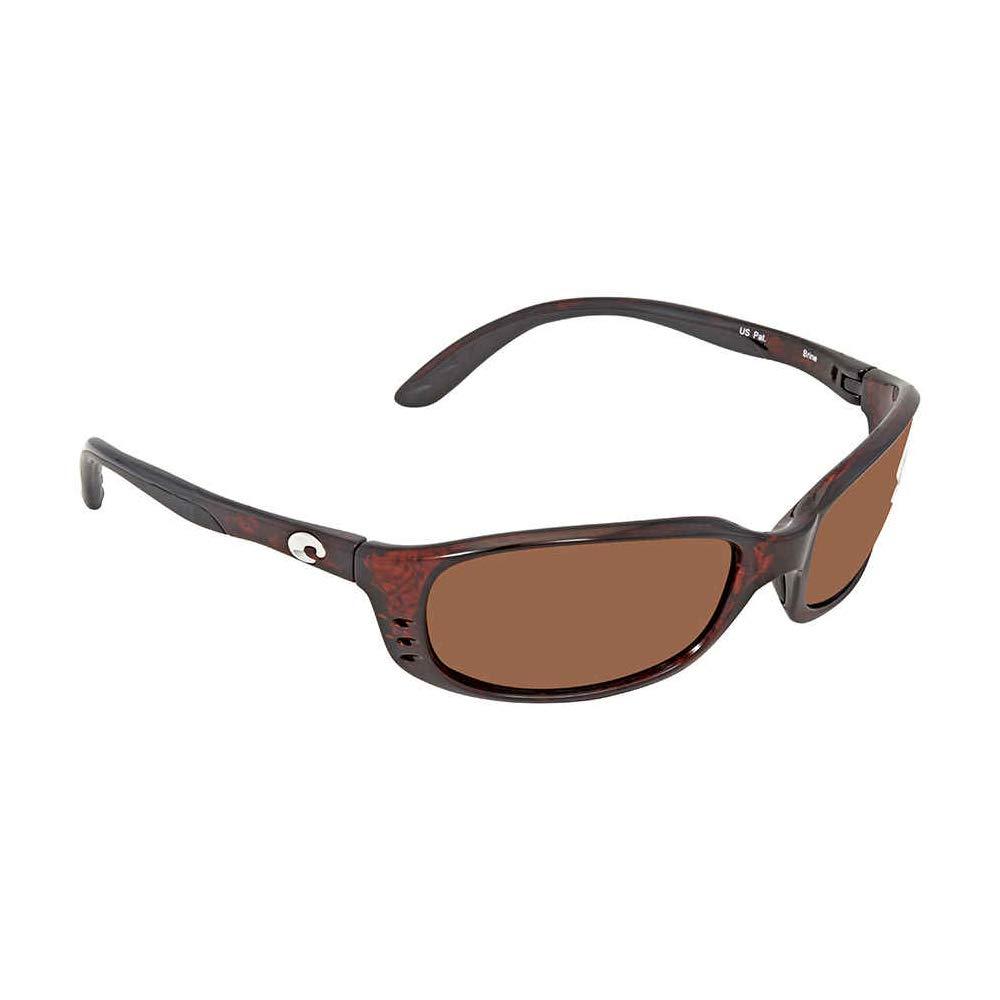 Costa Del Mar Brine Sunglasses, Tortoise, Copper 580G Lens