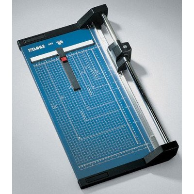 Dahle Professional Rolling Trimmer, Model 554, 20 Sheet Capacity, 28 1/4'' Cut Length by DAHLE NORTH AMERICA, INC