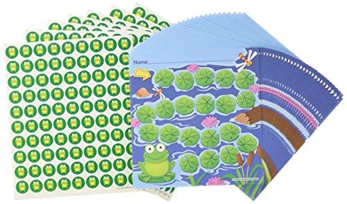 Carson Dellosa Frog Mini Incentive Charts (Frog Notepad)