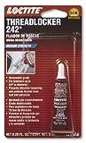 Automotive : Loctite 37418 242 Blue Medium Strength Threadlocker Tube, 6-milliliter