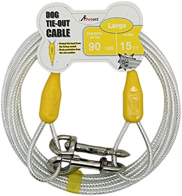 Petest Reflective Tie Out Cable Pounds