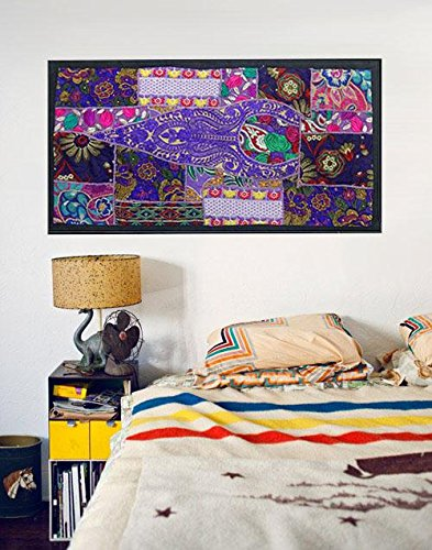 garden outdoor wall art decor Patchwork Wall Hanging tapestry