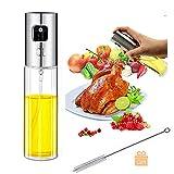 Best Olive Oil Sprayers - Olive Oil Sprayer, Transparent Food-grade Glass Oil Spray Review
