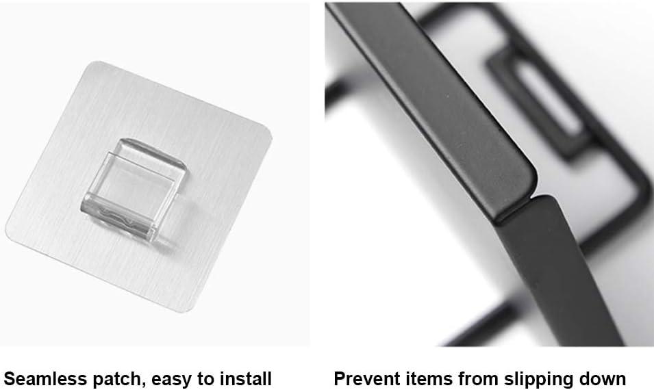 Hivexagon Porta Papel Higi/énico y Dispensador de Papel Higi/énico sin Perforaciones Estante de Almacenamiento de Tel/éfono para Ba/ño Cocina Ba/ño HG342