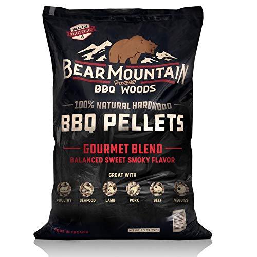 Bear Mountain BBQ 100% All-Natural Hardwood Pellets