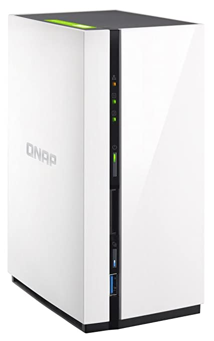Amazon com: QNAP 2-Bay Personal Cloud NAS with DLNA, Mobile
