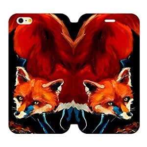 Hoomin Art Printed Fox iPhone 6plus 5.5 by lolosakes