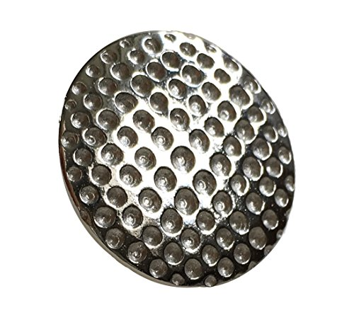 KiskatomCat Sterling Silver Golf Ball Marker, Putting Mark, Golf ()